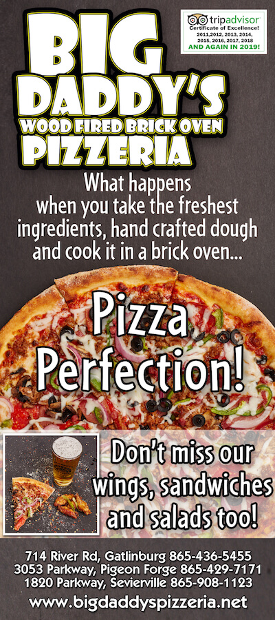 Big Daddy's Pizzeria Brochure Image