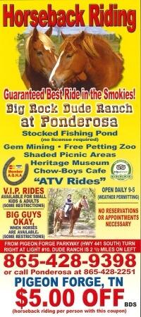 Big Rock Dude Ranch at Ponderosa