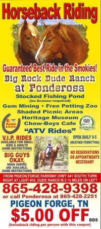 Big Rock Dude Ranch at Ponderosa
