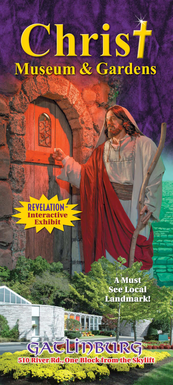 Christ Museum & Gardens Brochure Image