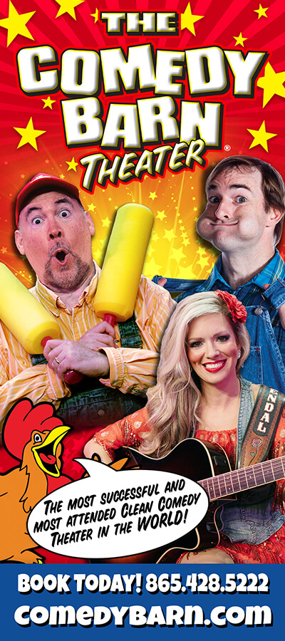 Comedy Barn Brochure Image