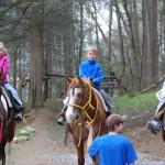 Smoky Mountain Riding Stables Three Riders
