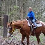Smoky Mountain Riding Stables Boy Rider