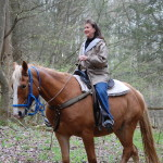 Smoky Mountain Riding Stables Woman Rider