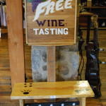 Rocky Top Wine Trail Free Wine Tasting Sign