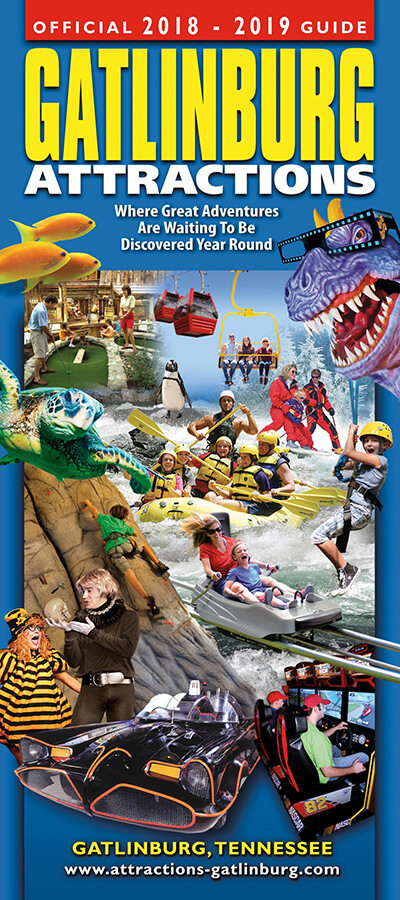 Gatlinburg Attractions Guide Brochure Image