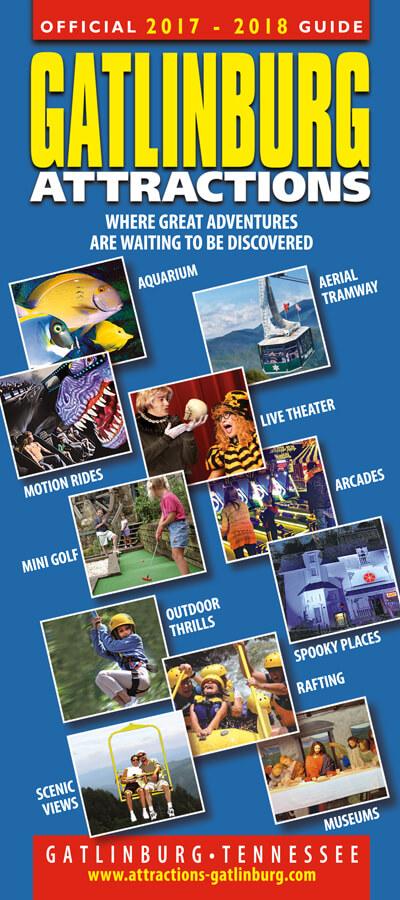 Gatlinburg Attractions Guide Brochure Image