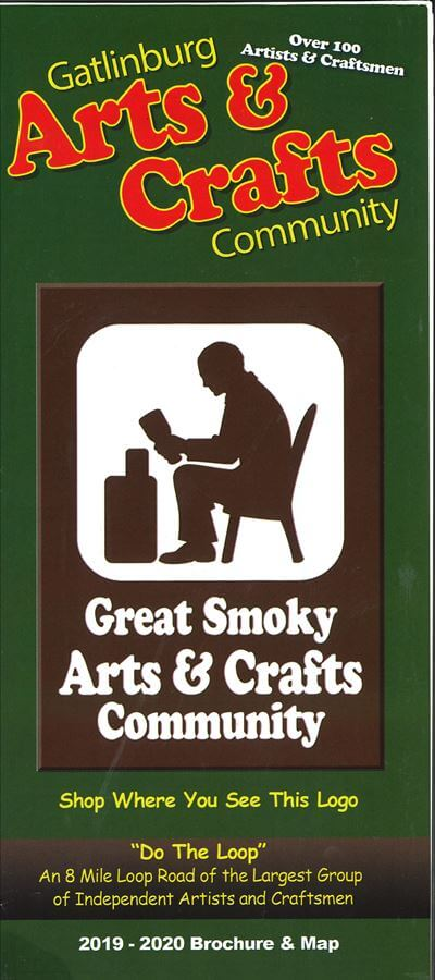 Great Smoky Arts and Crafts Community Brochure Image