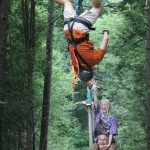 Foxfire Mountain Zip Lines Upside Down