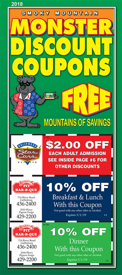 Monster Discount Coupons Brochure Image