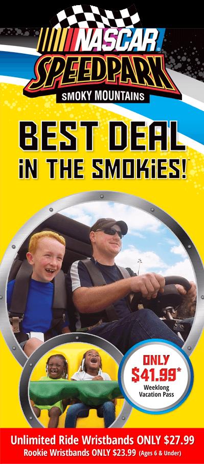 NASCAR SpeedPark Brochure Image