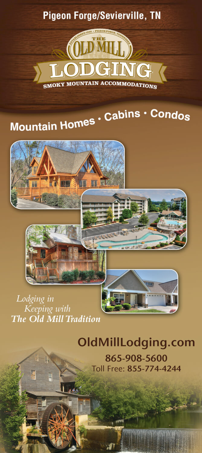 Old Mill Lodging Brochure Image
