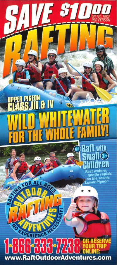 Outdoor Adventures Rafting Brochure Image