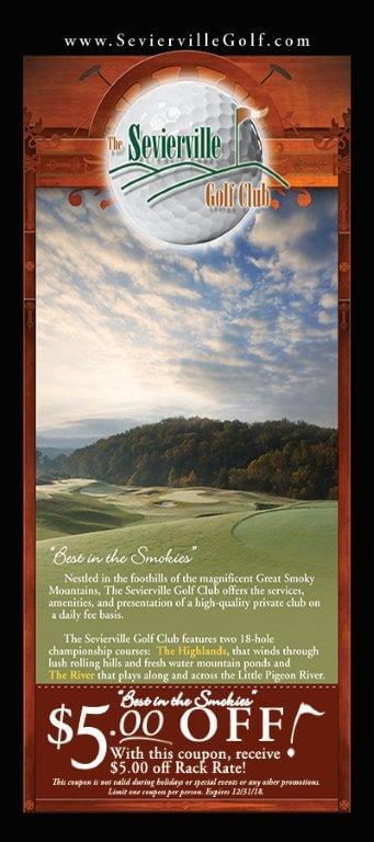 The Sevierville Golf Club Brochure Image