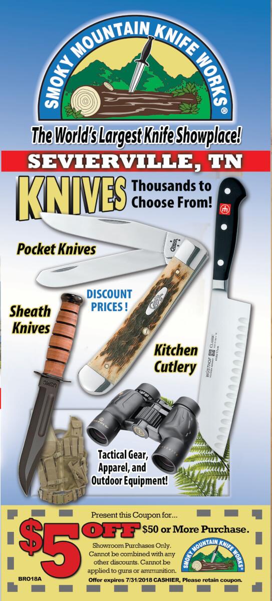 Smoky Mountain Knife Works Brochure Image