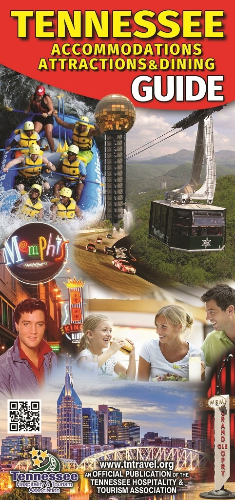 Tennessee Accommodations Attractions & Dining Guide Brochure Image