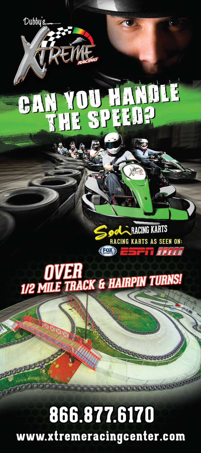 Xtreme Racing Center Brochure Image