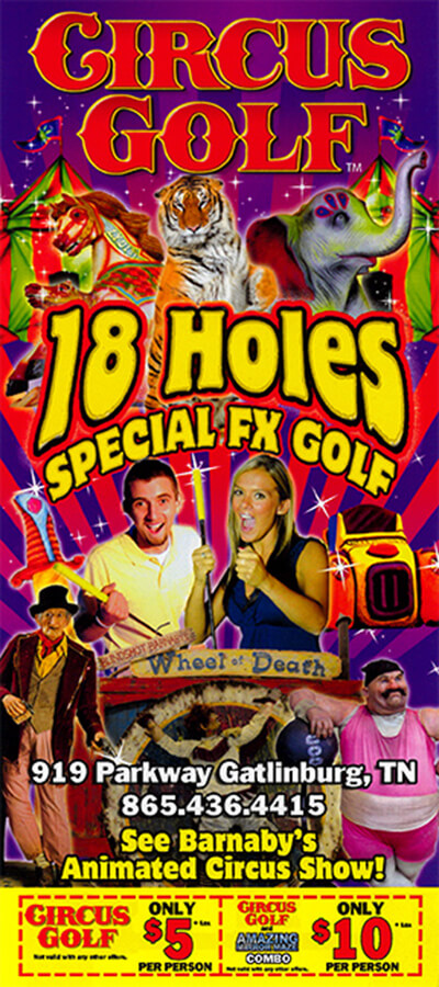 Circus Golf Brochure Image