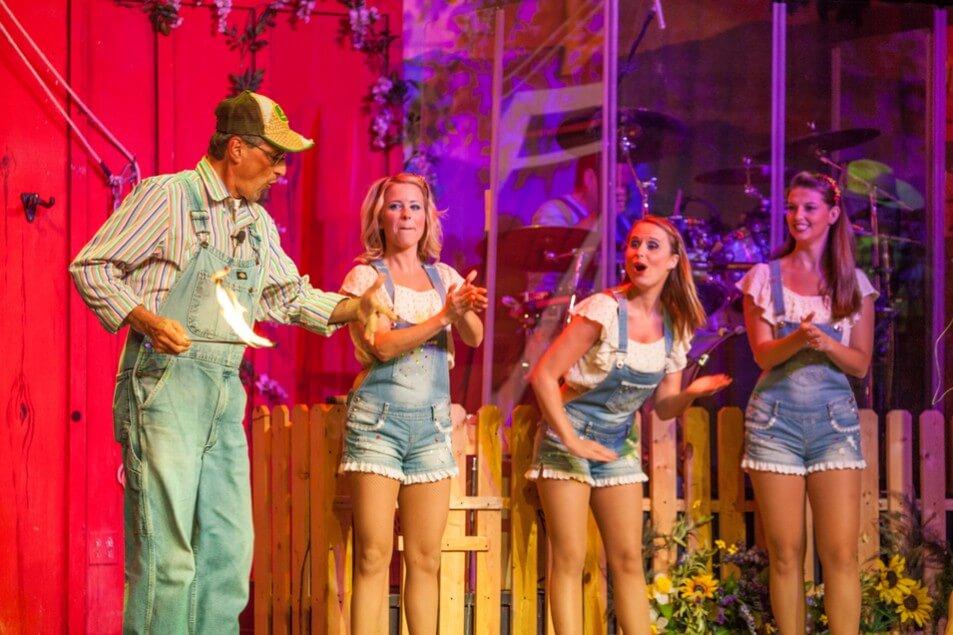 Comedy Barn Three Girls