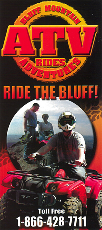 Bluff Mountain ATV Rides Brochure Image
