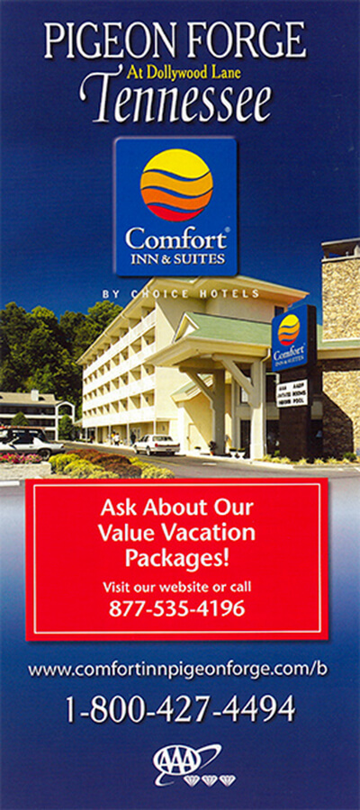 Comfort Inn & Suites at Dollywood Lane Brochure Image