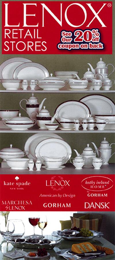 Lenox Retail Stores Brochure Image