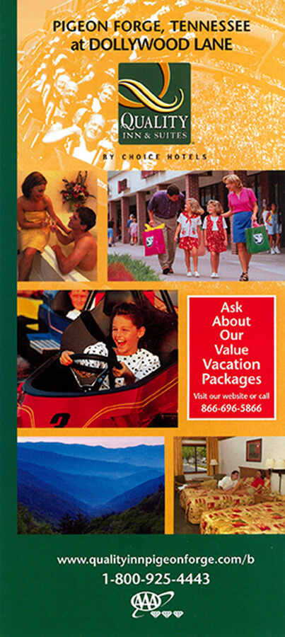 Quality Inn & Suites at Dollywood Lane Brochure Image