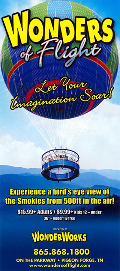 Wonders of Flight Brochure Image