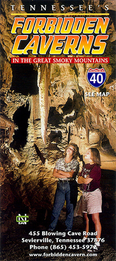 Forbidden Caverns Brochure Image