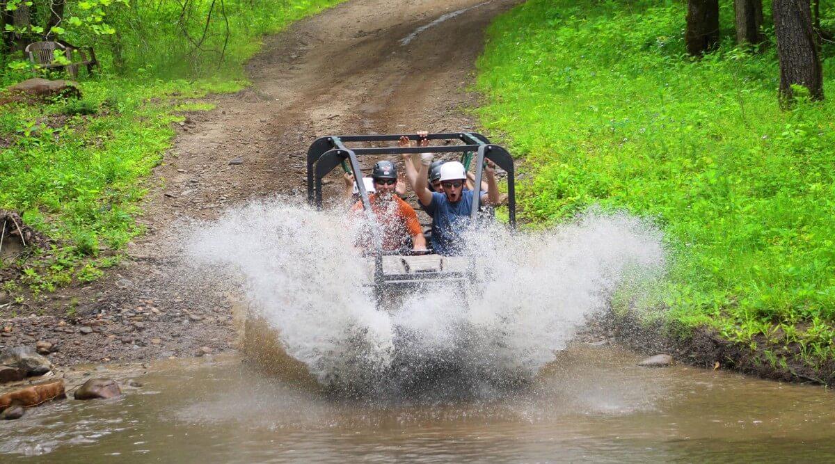 Foxfire Mountain Park Riding in ATV