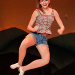 Hatfield & McCoy Dinner Show Woman and Heels