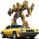 Hollywood Star Car Museum Bumblebee Robot