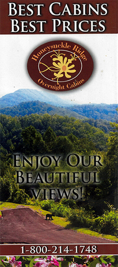 Honeysuckle Ridge Cabins Brochure Image