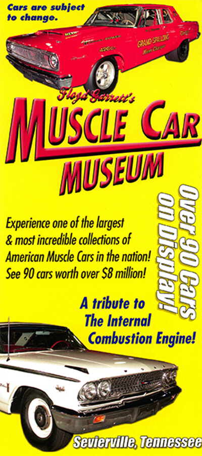 Muscle Car Museum Brochure Image