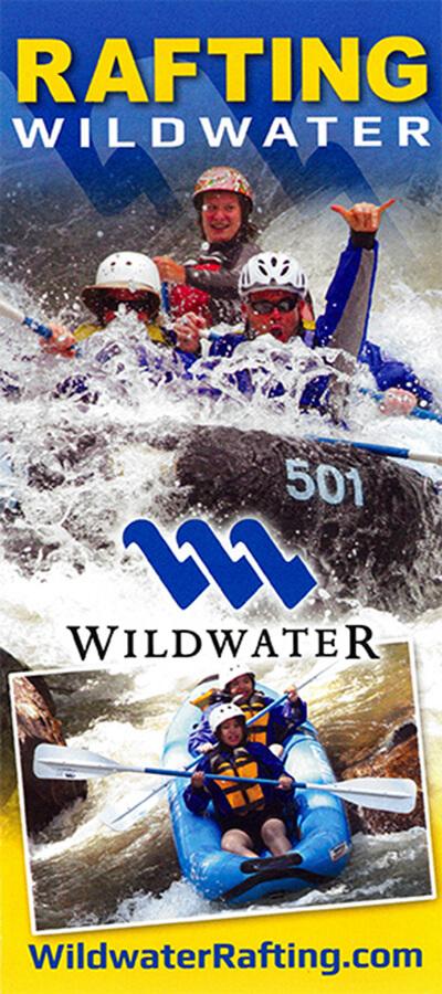 Wildwater Rafting Brochure Image