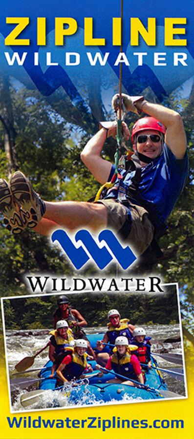 Wildwater Zipline Brochure Image