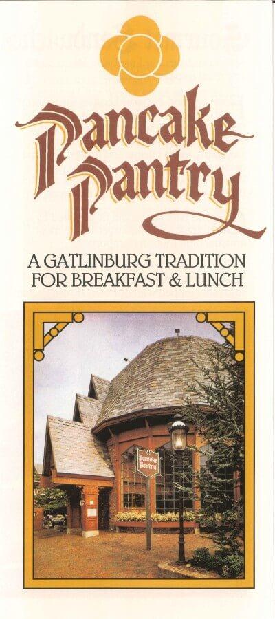 Pancake Pantry Brochure Cover