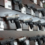Buds Gun Shop Range Handgun Displays