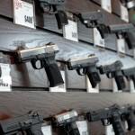 Buds Gun Shop Range Handgun Displays