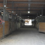 Sugarlands Riding Stables Inside Stable Area