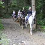 Sugarlands Riding Stables Four Riders