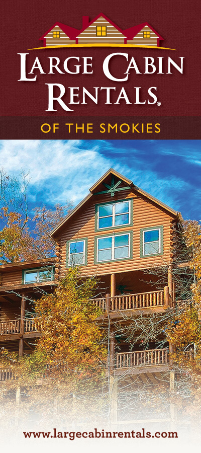 Large Cabin Rentals of the Smokies Brochure Image