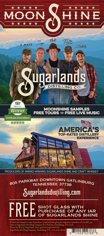 Sugarlands Distilling Company Brochure Image