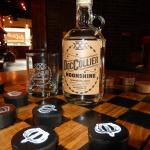 Doc Collier Moonshine on Checker Board