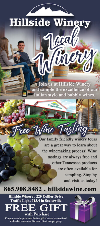 Hillside Winery Brochure Image