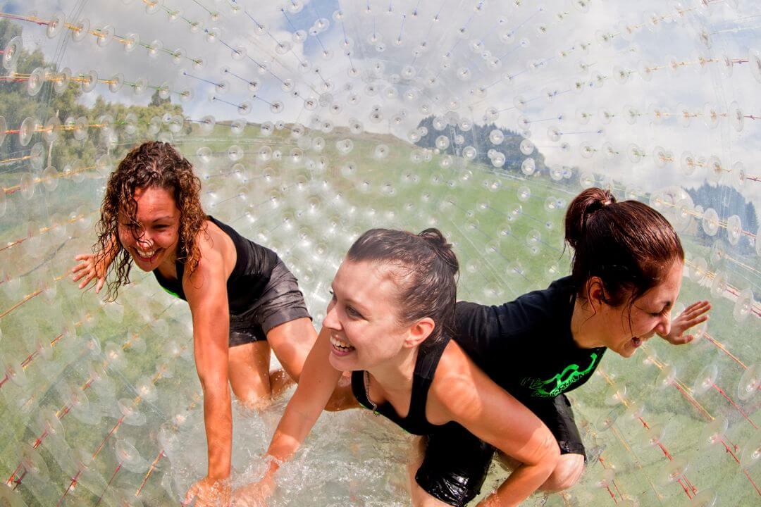 3 Girls in OGO Ball