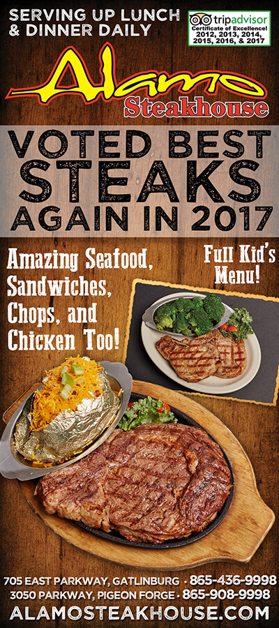 Alamo Steakhouse Brochure Image