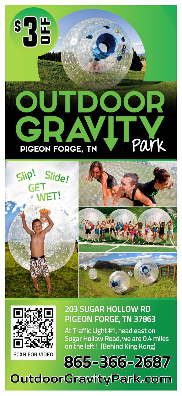 Outdoor Gravity Park Brochure Image