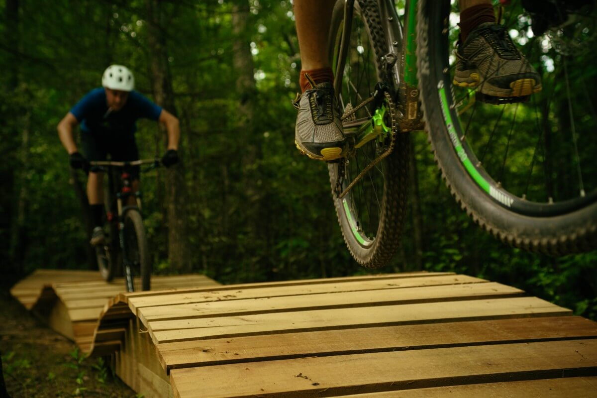 Climbworks Mountain Bike Ramps