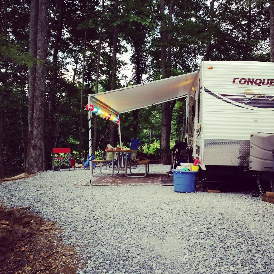 Smoky Mountain Premier RV Resort Camp Site